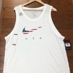 Nike tank top USA Colors sz Large